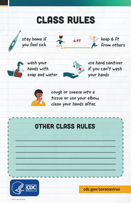 (Poster) CDC - Class Rules