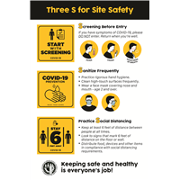 (Coroplast) 3 S for Safety English