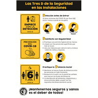 (Coroplast) 3 S for Safety Spanish