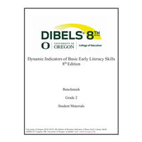 • DIBELS - Grade 2 Teacher Manual