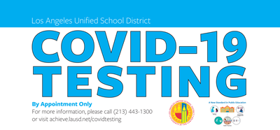 (Yard Sign) COVID-19 Testing -English