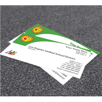 • Business Cards ( Green)
